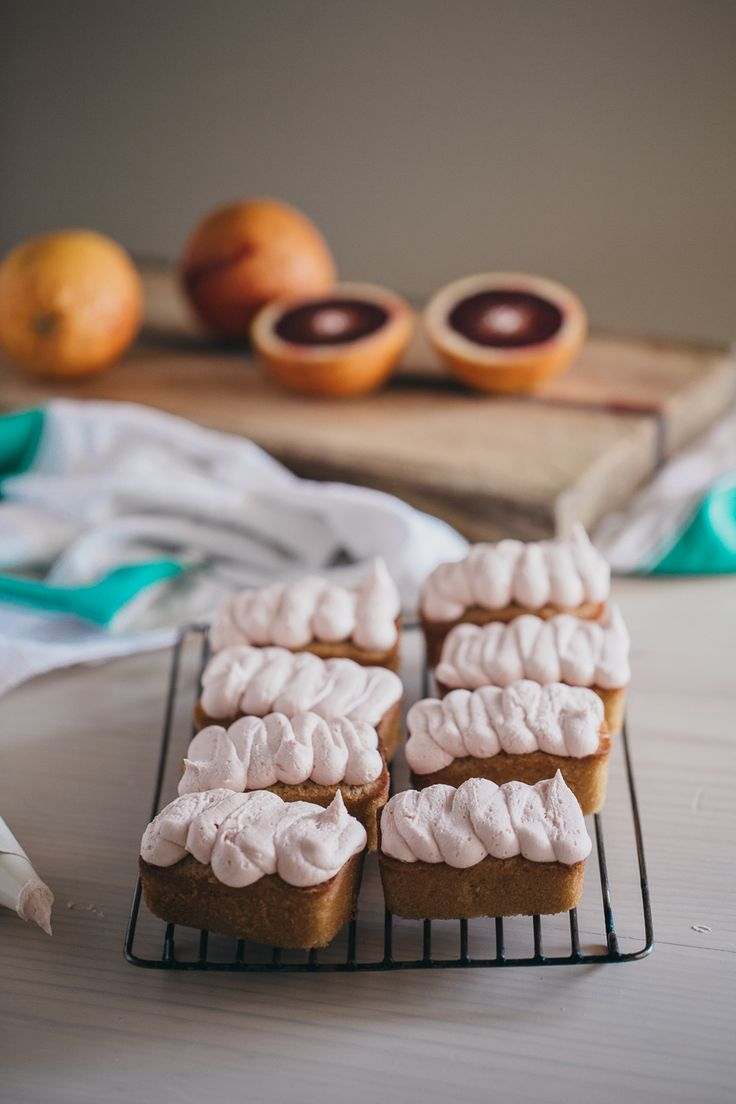 Blood Orange Mini Loaf Cakes - Erin Made This