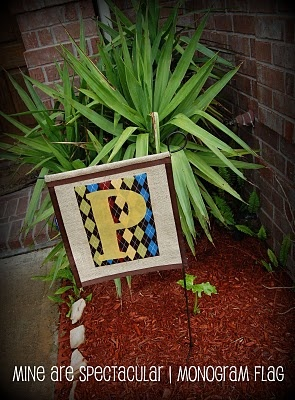 Burlap Yard Flag - Customize for this Holiday.