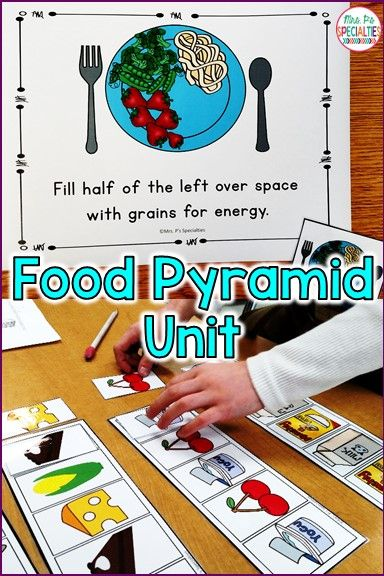 This unit is just what you need to teach about the food groups, the food pyramid and taking care of your body to students with disabilities. The hands on tasks and all of the visuals are perfect for students with autism, special education classrooms, life skills programs and for preschool classes. Great set!!