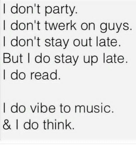 Mee every night !! Story of my life ((lol)) Music quotes