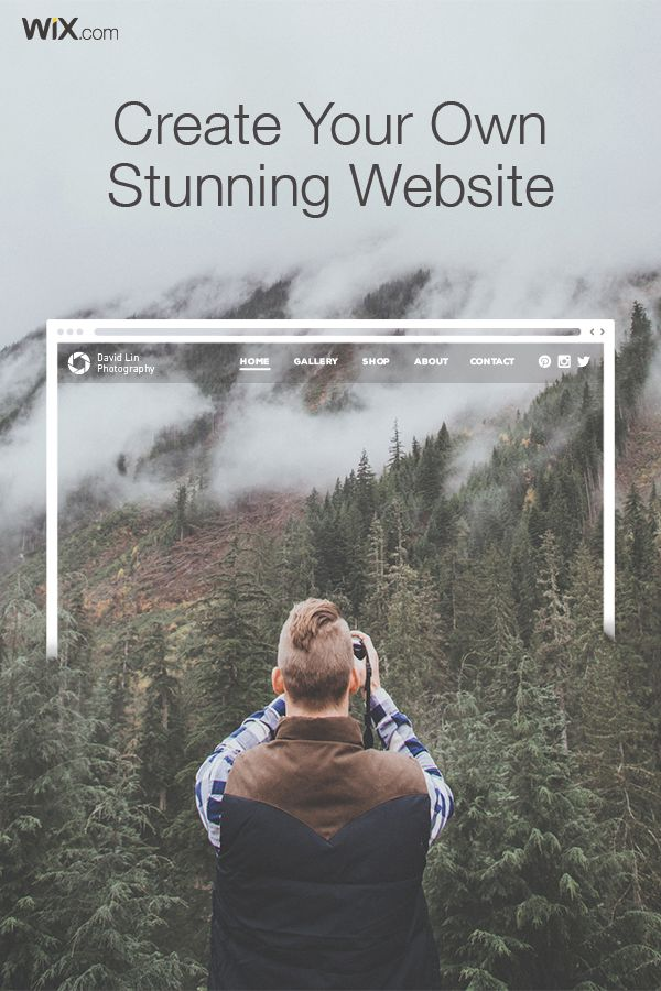 how to create your website with wix