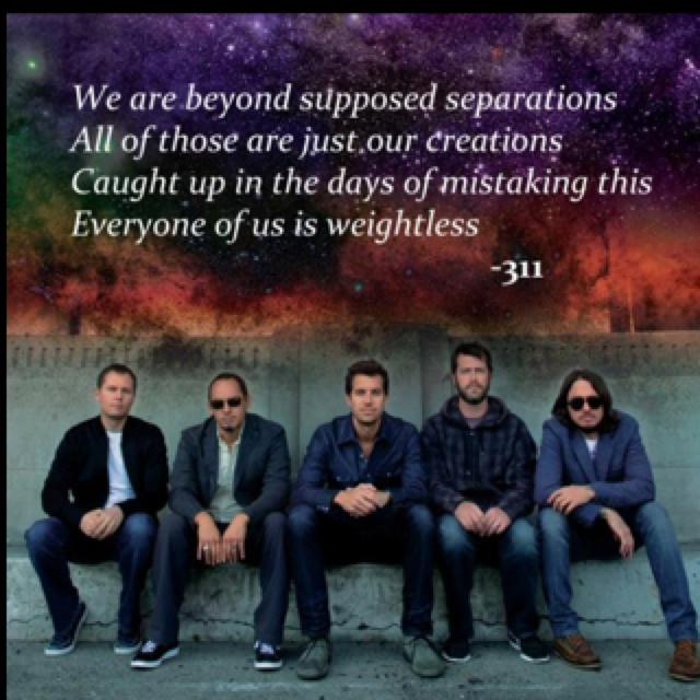 one of my favorite songs #311 #weightless HAPPY 311 DAY!
