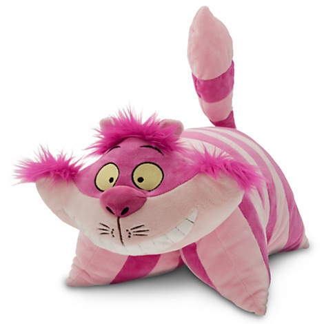 Alice in Wonderland Cheshire Cat Pillow PAL Pet Plush Walt Disney World | eBay $49.95