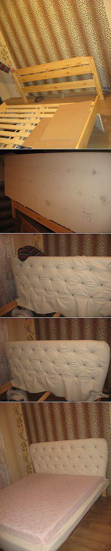 пошаговое изготовление изголовья к кровати своими руками | Школа Ремонта