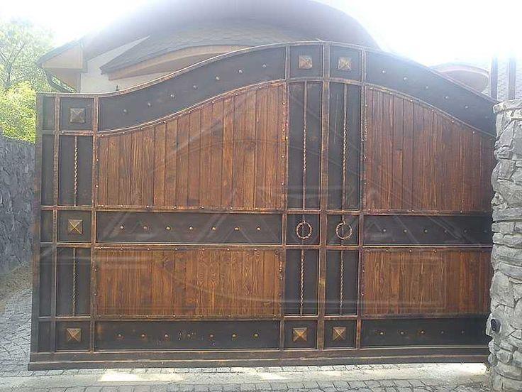Объявление. г. Тюмень, Деревянные ворота с элиментами ковки. Фото 4