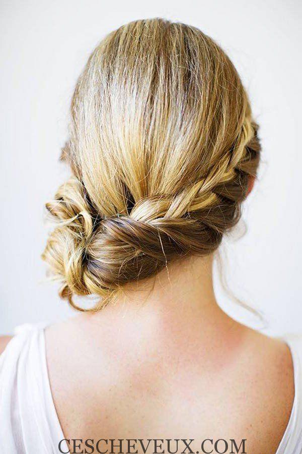 Queue De Cheval Hairstyle : queue de cheval et chic minimaliste Frisuren / Cheveux / HairStyles ...