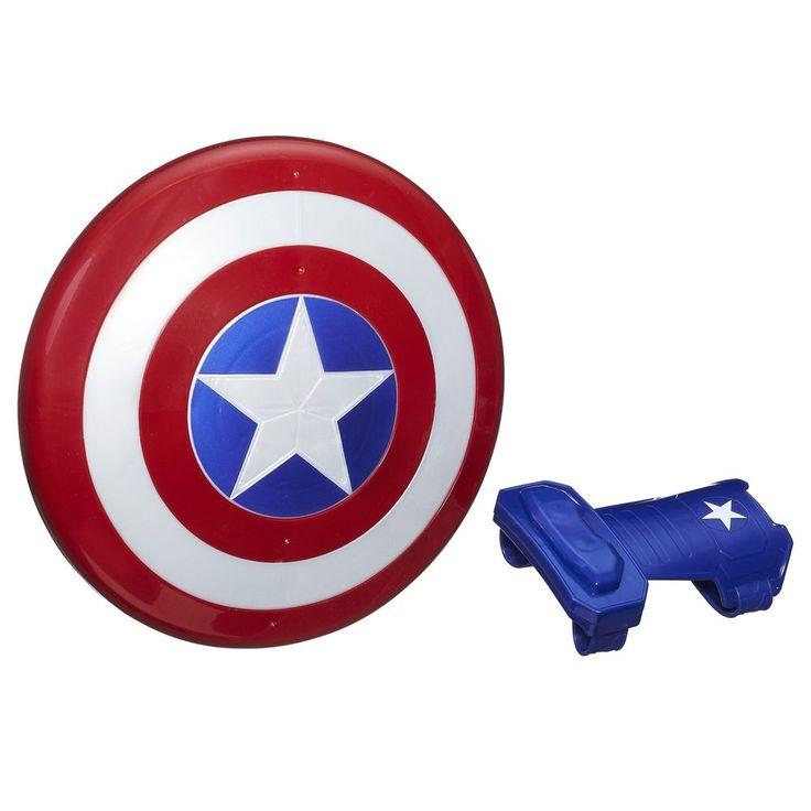 Marvel Captain America Magnetic Shield &Amp; Gauntlet