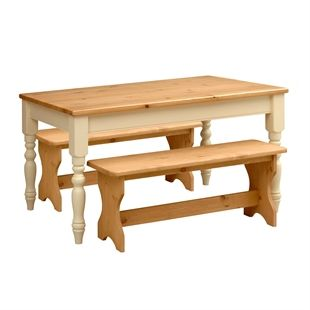 Cream Furniture | Pine, Oak, and Solid Wood Cream Furniture | Pine Solutions