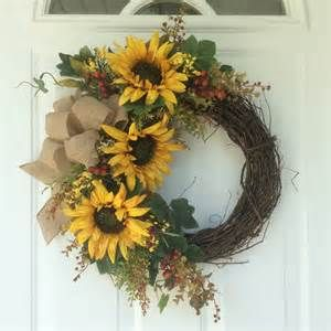 sunflower wreaths - Bing images