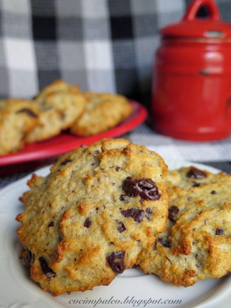 Cocino paleo ¿Qué pasa?: Galletas con harina de almendras
