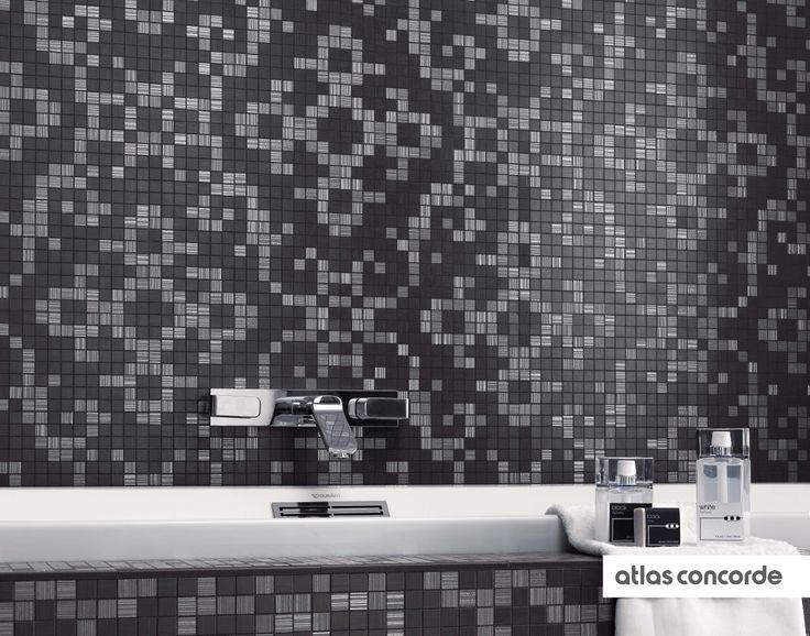 BRILLIANT #Mosaic | #AtlasConcorde | #Tiles | #Ceramic