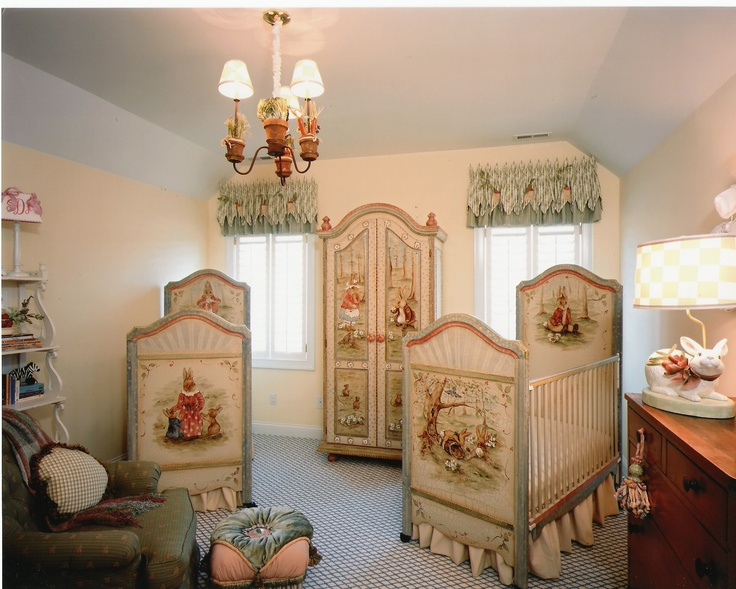 Like The Furniture Placement In This Room Find Pin And More On Peter Rabbit Nursery
