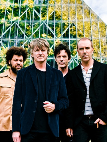 My beloved Crowded House. I could listen to the music of Neil Finn all day, every day, forever.