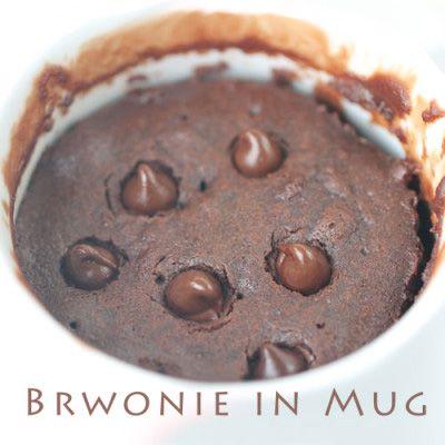 Perfect Brownie in Mug – 5-Ingredient Microwave Recipe