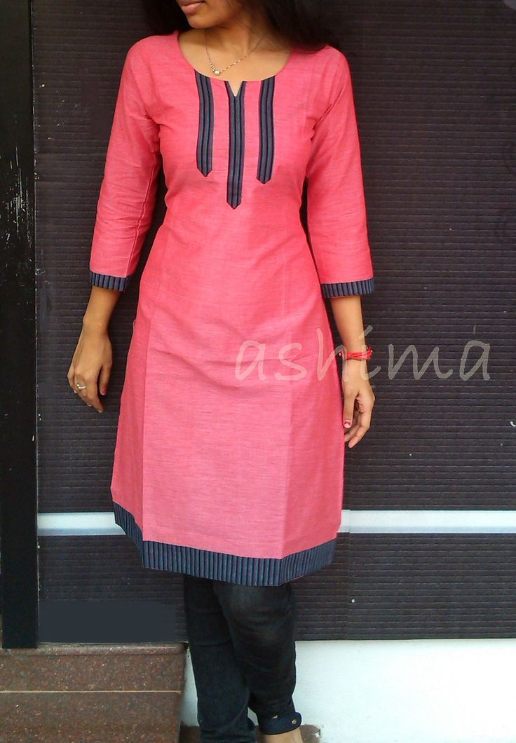 Cotton Kurta-Code:2409150 Price INR:690/- All sizes available. Free shipping to all courier destinations in India. Online payment through PayUMoney / PayPal