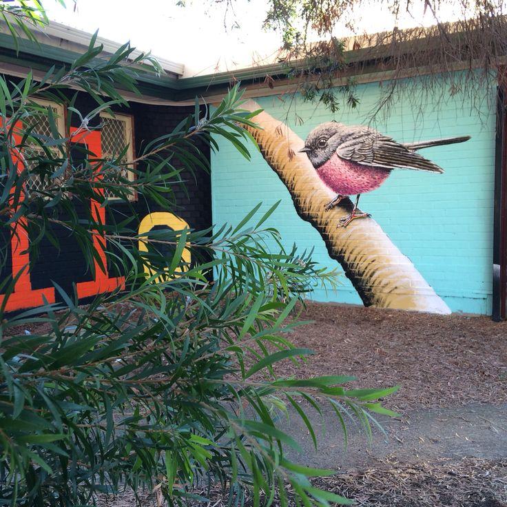 Hello Birdy #art #artist #artwork #paint #painting #mural #streetart #perth
