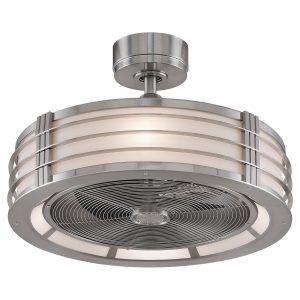 Flush Mount Kitchen Ceiling Fans With Lights