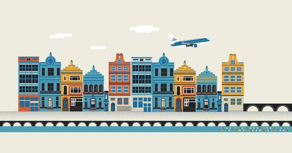 Editorial Illustration: Holland Herald magazine by The Design Surgery , via Behance