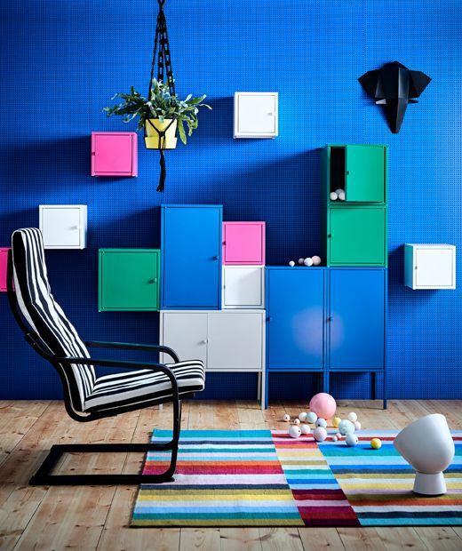 Ikea Deutschland Mit Modernen Möbeln Lässt Sich Colour Blocking