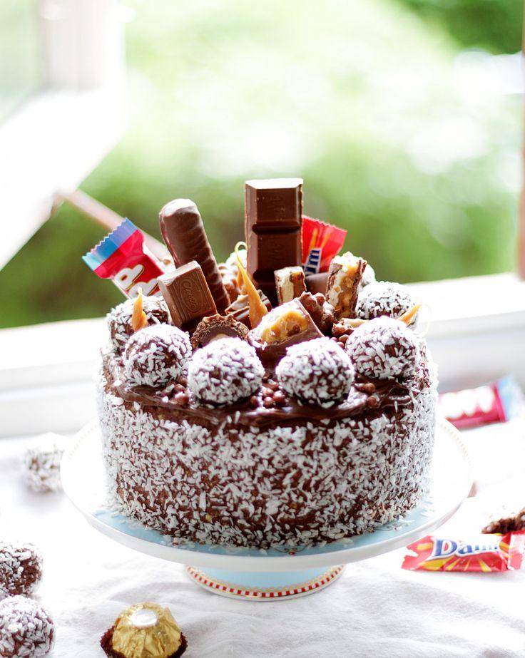 Hello sötisar! Ni har väl inte missat att det är Chokladbollens dag imorgon 11/5? Tack vare att min mamma igår påminde mig om detta så har jag idag bakat världens godaste Chokladbollstårta. Det är...