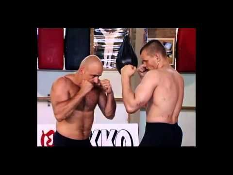 Bas Rutten - How to punch and kick (basic technique) - YouTube