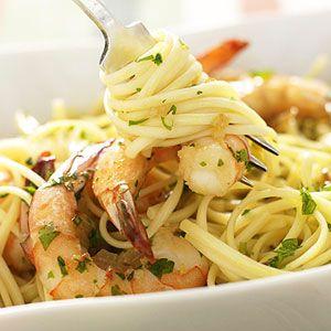 Shrimp Scampi Pasta ready in 25 minutes!