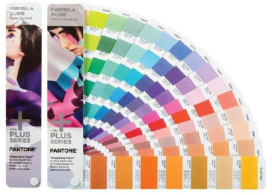 Pantone Formula Guide C/U (GP1601N); This is the most commonly used colour guide among printers worldwide. The formula guide is an essential tool for graphic designers, pre-press professionals and printers. Its simple design provides a convenient and portable reference that can accompany you at client presentations or on press. This two-guide set contains 1,867 PANTONE colours on coated and uncoated stock.