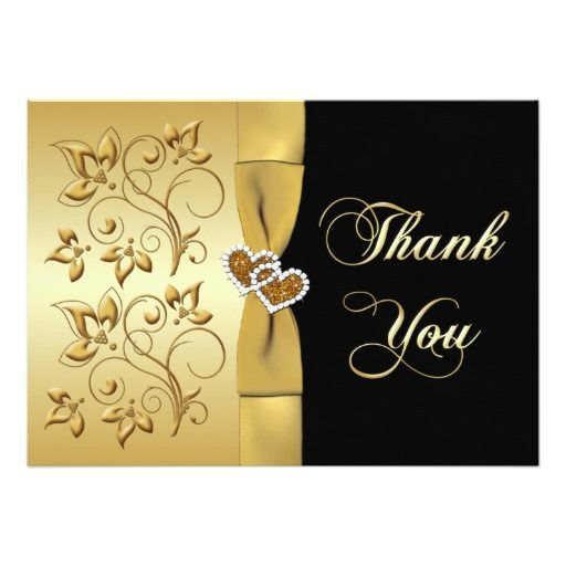 17 Best images about Floral Wedding Thank You Card – Buy Wedding Thank You Cards