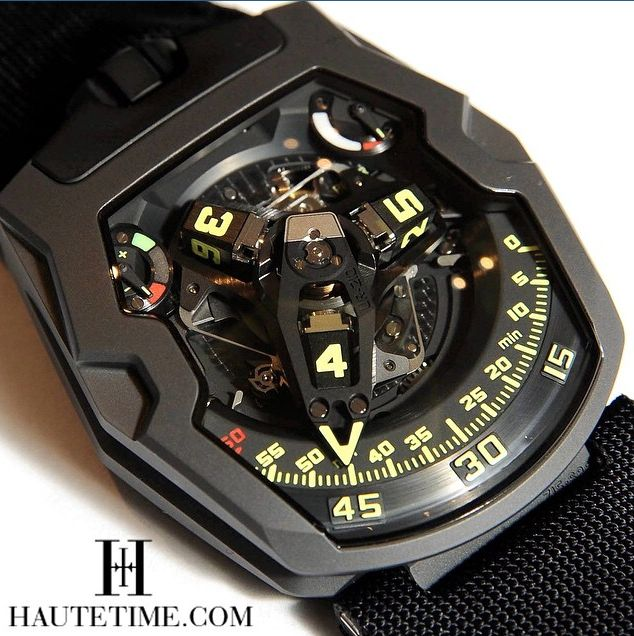 UR-210 Y, URWERK by Haute Time