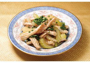 イカとセロリの中華炒め レシピ|らでぃっしゅレシピ