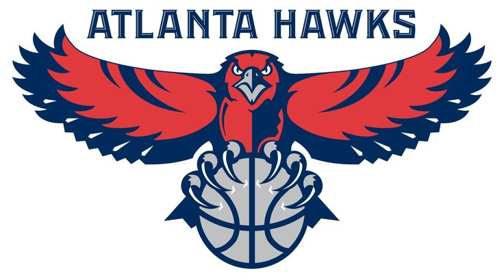 The Atlanta Hawks are a basketball team in the NBA, hence its depiction of a gray basketball being grasped by a hawk's rather sharp talons. Description from sports.gunaxin.com. I searched for this on bing.com/images
