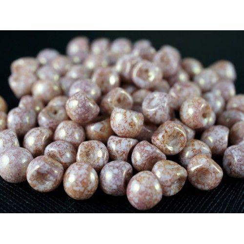 http://www.scarabeads.com/Glass-BEADS/Mushroom-Beads/25pcs-Mushroom-beads-9x8mm-White-Alabaster-Copper-Terracotta