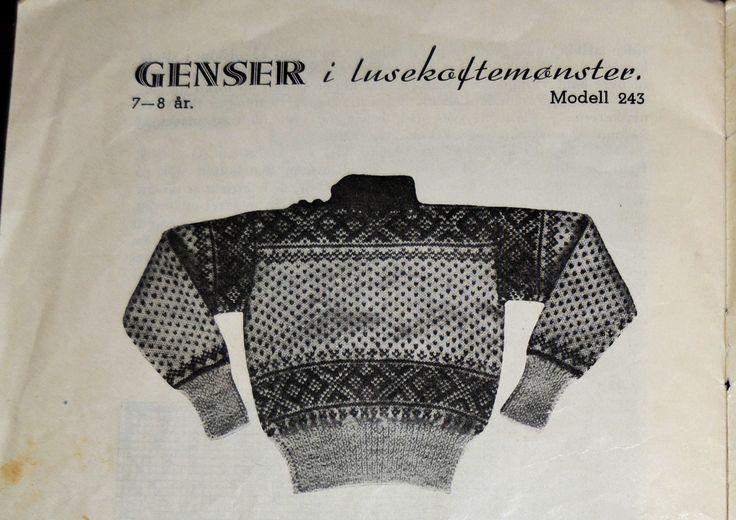 Garnmannens genser