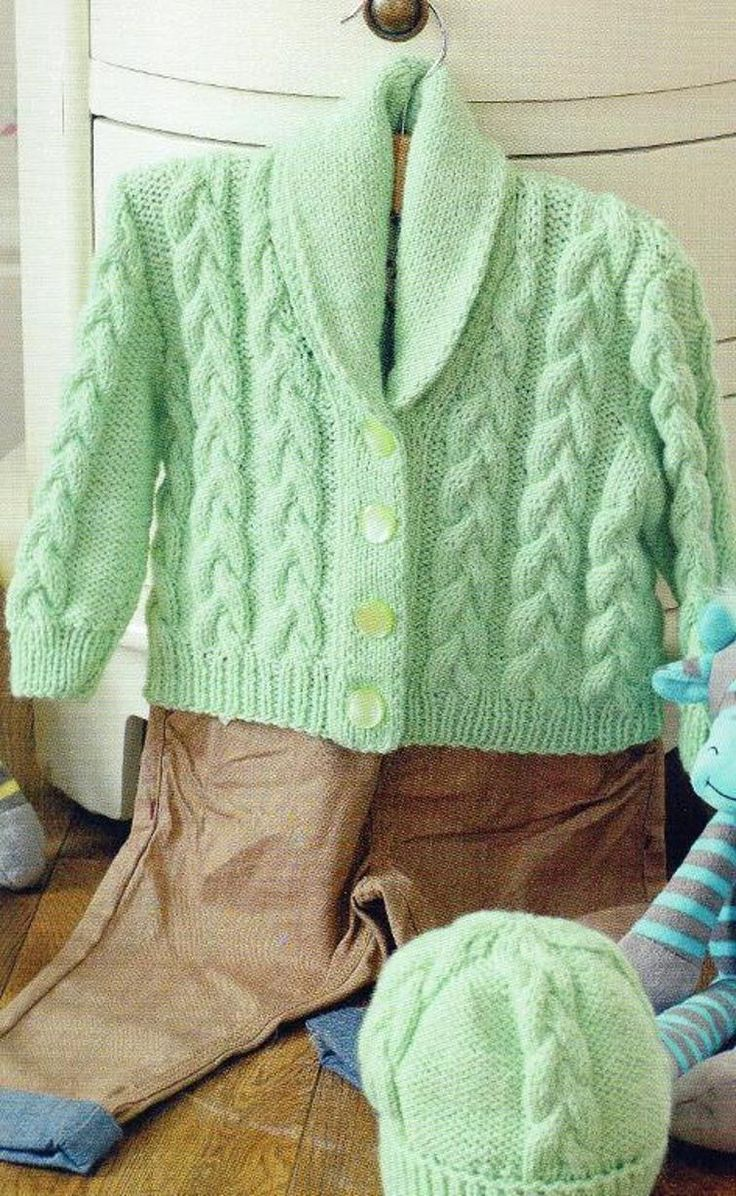 90 best knit babies images on pinterest knitted baby baby cable hat and jacket free knit pattern fandeluxe Choice Image