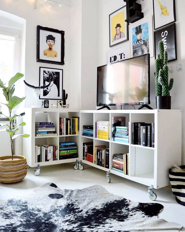 21 Inventive Ways to Use Ikea Kallax Shelves Around the ...