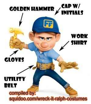 Fix It Felix Jr. Costume