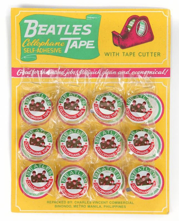 The Beatles Cellophane Tape