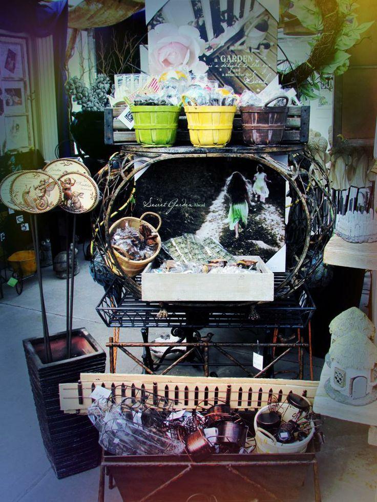 Fairy Gardening! Fairy prints, tiny furniture, beach accessories, small garden miniatures