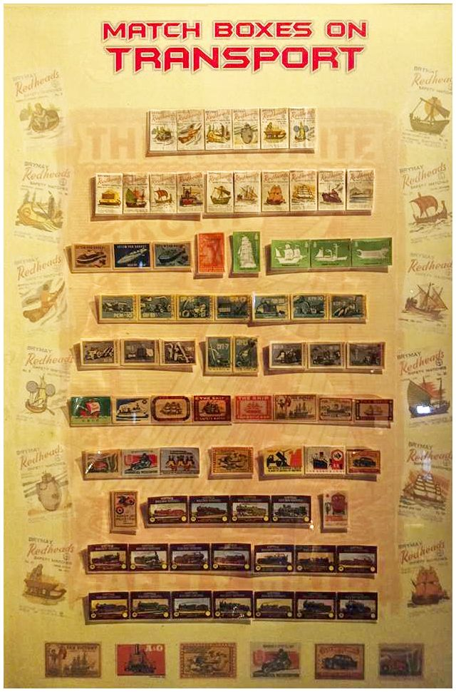Check out the collection of match boxes on transport!  #rarecollection #heritagetransportmuseum #matchboxcollection #vintagecollection #classiccollection
