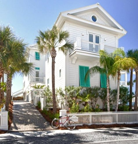 Completely Coastal | Florida Beach Cottage | Turquoise Shutters