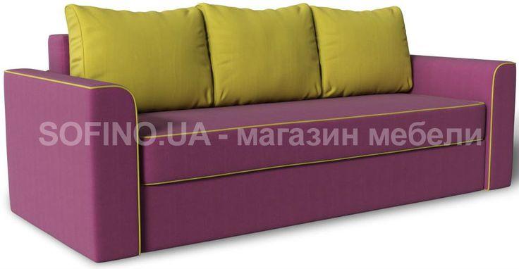 Яркий удобный диван Майами от украинской фабрики Зенит наполнит комнату тепло и уютом одним своим видом! Он невероятно удобный! Сиденье упругое, а подушки - в меру мягкие. Такой диван просто создан для отдыха! Перед Вами модель в цвете Berry | Apple, но Вы можете выбрать любой другой на Ваш вкус!