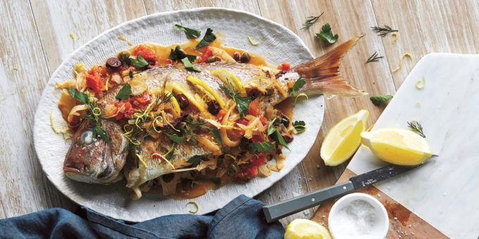 I Quit Sugar - Whole Baked Snapper