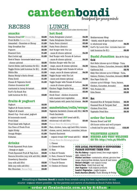 Someone recommended this as a healthy canteen menu Nutrikids | Canteen Bondi – A Safe Haven And A Place To Get Nourished
