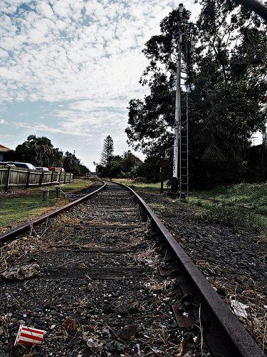 RIP - Old railway  Tumblr: http://ozpicday.tumblr.com Flickr: https://www.flickr.com/photos/123419261@N02/