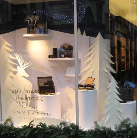 Retail Display white Christmas