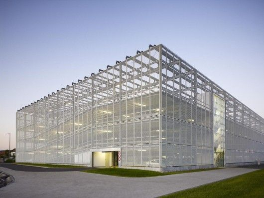 SMA car park bldg in Niestetal by HHS Planer + Architekten AG
