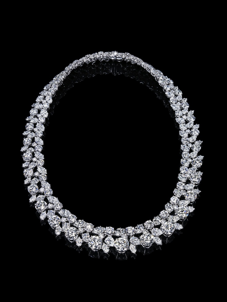 Harry winston wreath necklace wedding pinterest for Harry winston jewelry pinterest