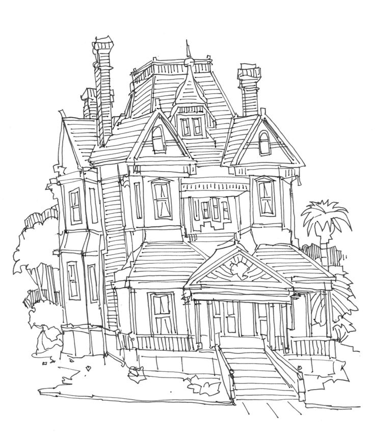 Alhambra coloring pages ~ 20 best Creative Corner - Victorian Coloring and Clip Art ...