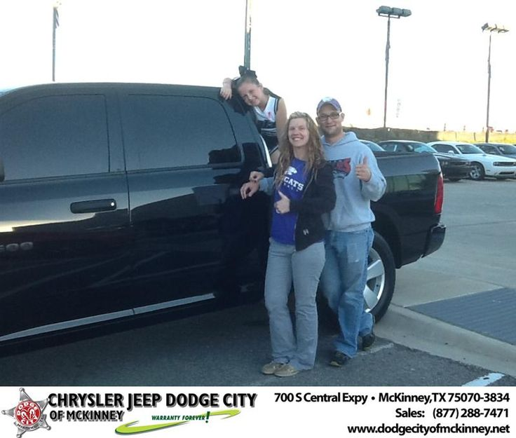 Joe Ferguson just helped my wife and I get into a new Jeep Wrangler for her and Dodge Ram for me. He made the entire process smooth from start to finish. I would highly recommend friends and family to come see Joe for their new car needs. - Thomas Tatum, Saturday, October 19, 2013 http://www.dodgecityofmckinney.net/?utm_source=Flickr&utm_medium=DMaxxPhoto&utm_campaign=DeliveryMaxx