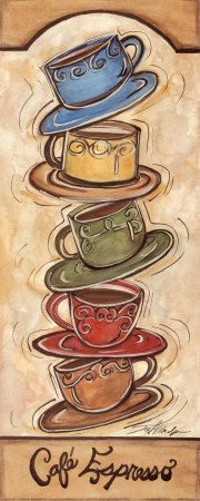 Coffee picture. This would go great in my kitchen